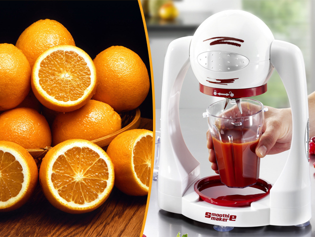 A Smoothie Makerrel teljesértékű gyümölcsözön vár, legyen a vágyad juice, koktél, gyümölcshab vagy akár fagyi, mostantól egyszerűen elkészítheted.