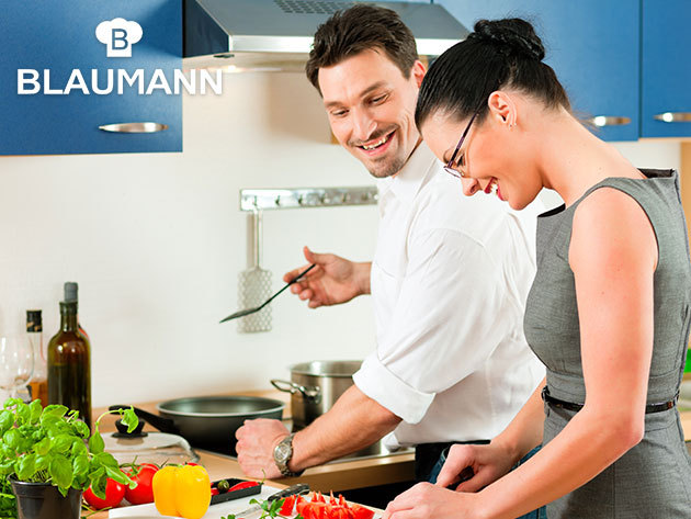 BLAUMANN konyhai termékek OUTLET áron! Termosz, késkészlet, tepsi, mérleg, hőálló üvegtálak, evőeszközök, stb.