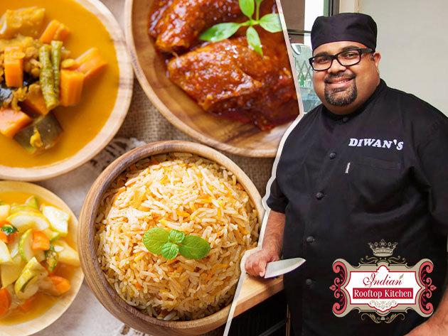Indiai főzőiskola - Készíts Allen Diwan séffel egy igazi indiai vacsorát, exkluzív környezetben, eredeti alapanyagokból / vega és vegán változatban is / 1 alkalom