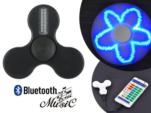 Fidget spinner / extra funkciók: Bluetooth + LED + Zene, több színben! Tanulj meg minél több trükköt és szórakoztasd barátaidat!