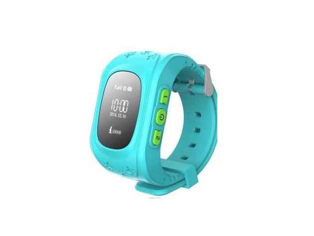 GPS Gyerek nyomkövető óra KÉK /  IRP-000003935