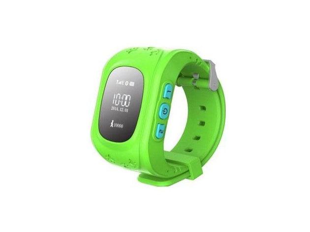 GPS Gyerek nyomkövető óra ZÖLD / IRP-000003936