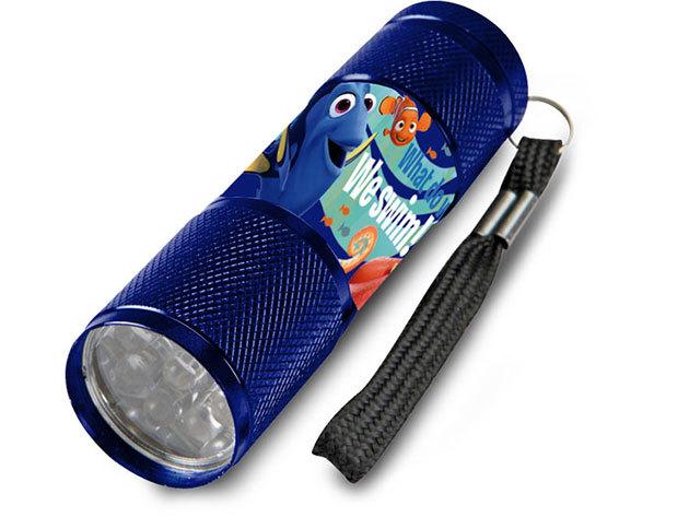 Gyermek alumínium LED zseblámpa / Dory kék