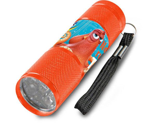 Gyermek alumínium LED zseblámpa / Dory narancssárga