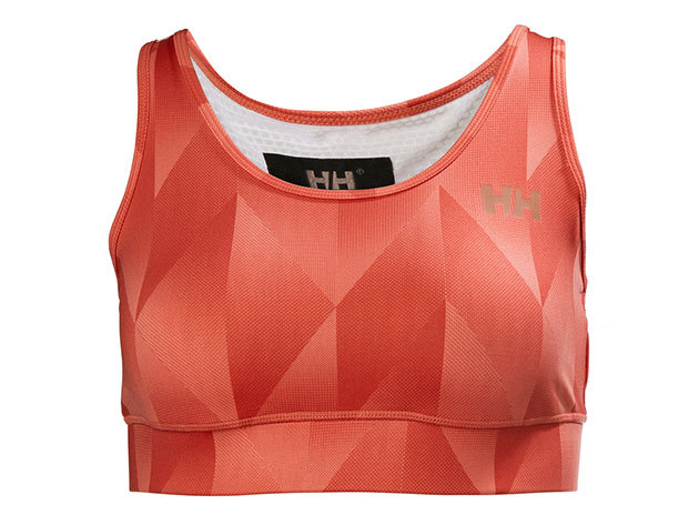 Helly Hansen W VTR CROPPED TOP BRIGHT BLOOM XS (49276_257-XS)