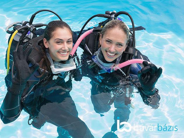Kóstolj bele a mélységbe! Próbamerülés az Aquaworld Resortban, PADI nemzetközi DSD búvár-regisztrációval