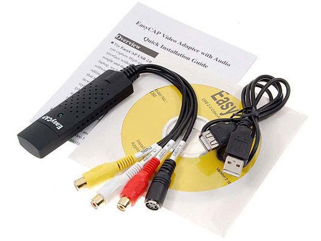 EASYCAP USB videó digitalizáló adapter - Ne VHS kazettán tárold emlékeidet!