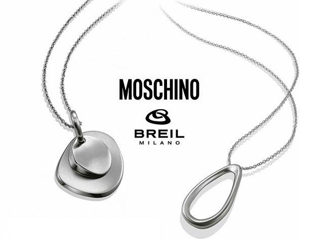 BREIL és MOSCHINO nyakláncok - prémium minőség, kifinomult stílus, elegancia