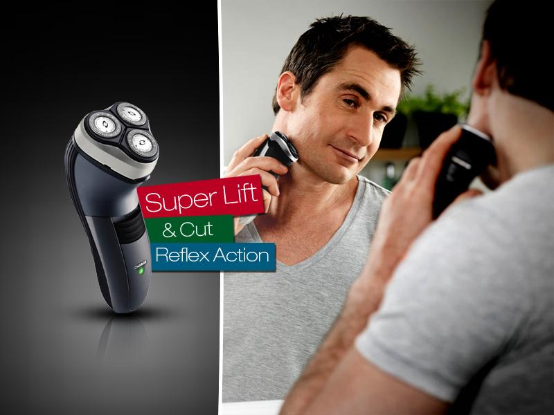 Ne nyúzd a bőröd, inkább használj profi, három forgófejes akkus borotvát, bárhol, bármikor.