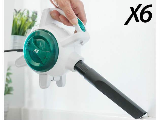 Talaj és kézi porszívó - X6 Handy Vacuum 0,5 L (400-600W) kis méretű, könnyű, praktikus, a válladra helyezheted takarítás közben