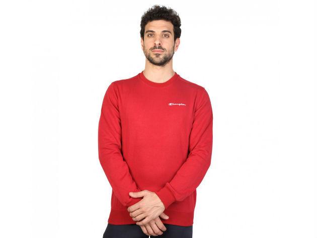 CHAMPION férfi kereknyakú pulóver  - bordó - BL10118 - XXL