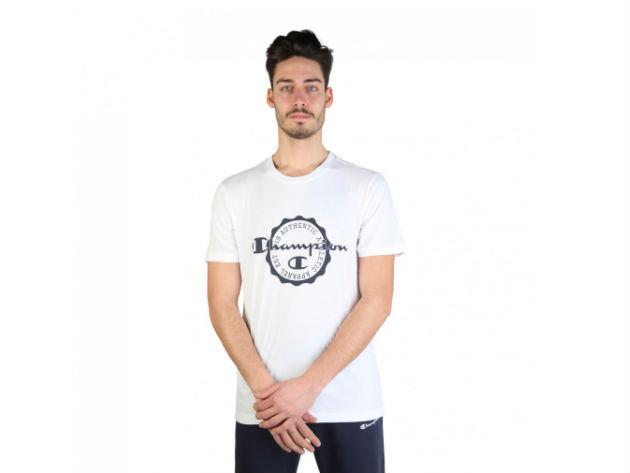 CHAMPION férfi kereknyakú póló  - fehér - BL10173 - M