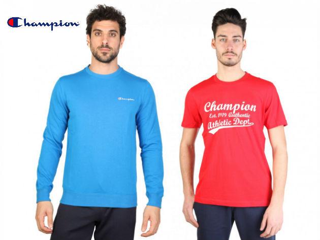 CHAMPION férfi pulóverek és pólók szuper áron - minőségi anyagok, divatos megjelenés