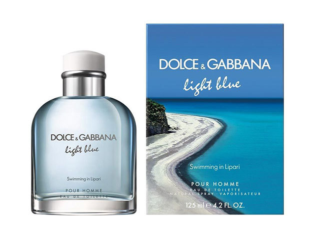 Dolce & Gabbana -Light Blue Swimming In Lipari Pour Homme, Eau De Toilette férfiaknak 125 ml