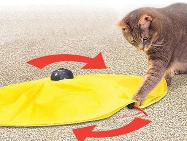 Egérfogócska interaktív macska játék - a leglustább cicából is előhozza a vadászösztönt...