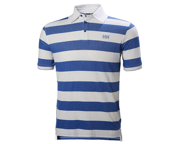 Helly Hansen MARSTRAND POLO OLYMPIAN BLUE STRIPE L (53022_564-L)