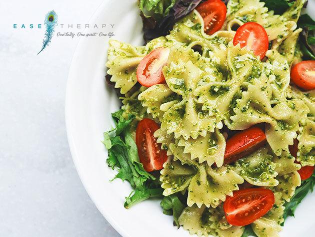 EASE Therapy - Mediterrán olíva, borkóstolóval összekötött főzőkurzus és vacsora program az Ízbisztróban (I. ker.) - Ismerkedj a gasztronómiával, tanulj meg egészséges, különleges ételeket készíteni ízletesen!