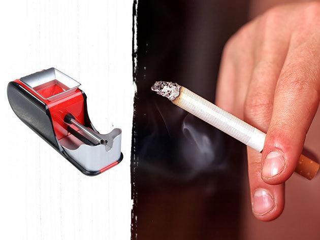 Elektromos cigarettatöltő - piros és kék színben / spórolj, készítsd el saját magad, pillanatok alatt