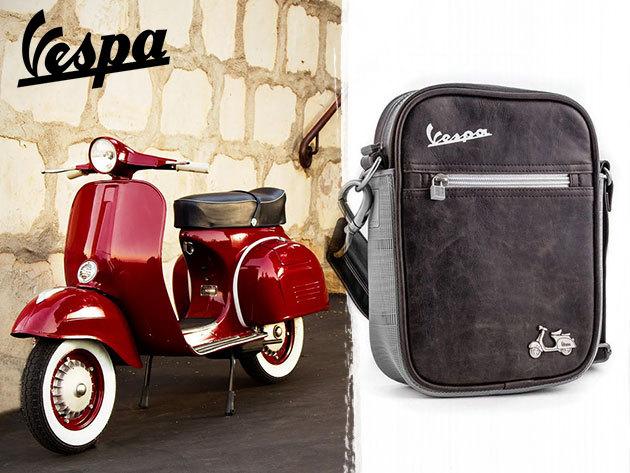VESPA férfi táskák és pénztárcák az ikonikus márka kedvelőinek - a sportosan kifinomult stílus mindenkinek jár!