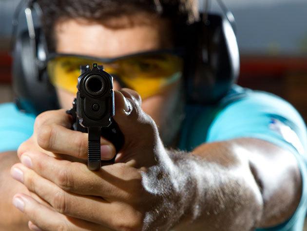 Élménylövészet all in csomag: akár 12 izgalmas fegyverrel (60 lőszer), oktatással és biztonsági felszereléssel
