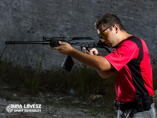 Élménylövészet akár 12 izgalmas fegyverrel (60 lőszer), oktatással és biztonsági felszereléssel - egyedülálló szabadtéri pályák Ráckevén / Duna Lövész Sportegyesület