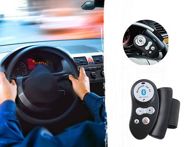 Kormányra szerelhető kihangosító Bluetooth kapcsolódással - Használd Te is a biztonságos vezetés érdekében!