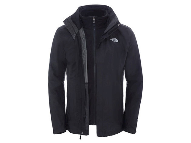 The North Face Férfi EVOLUTION II TRICLIMATE JACKET TNF BLACK- T0CG53JK3 L-es (Utánrendelésre)