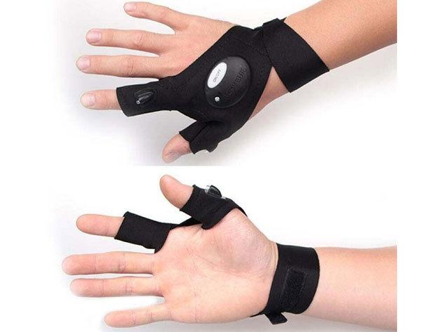 Glove lite Szerelő kesztyű beépített LED-el