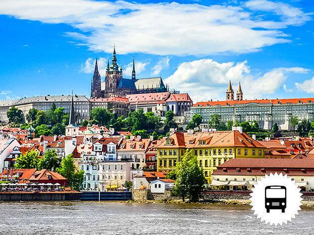 PRÁGA: Non-stop buszos utazás Csehország fővárosába október 20-án és november 24-én / fő