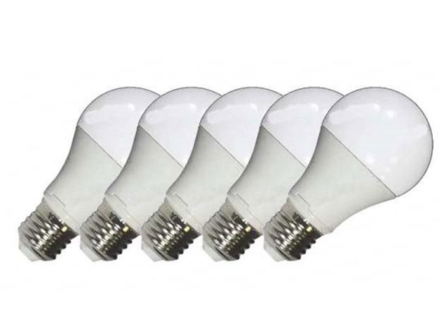 10W-os erős fényű LED izzó, meleg-fehér (5db-os csomagban) - 10W-LED-E27-MF (3000K)