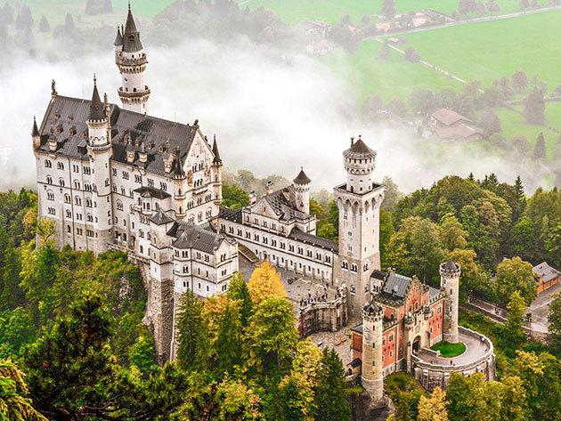 A világhírű tündérmesék palotája, a németországi Neuschwanstein kastély és a csodaszép Salzburg! 2017.09.22-2017.09.24 /fő