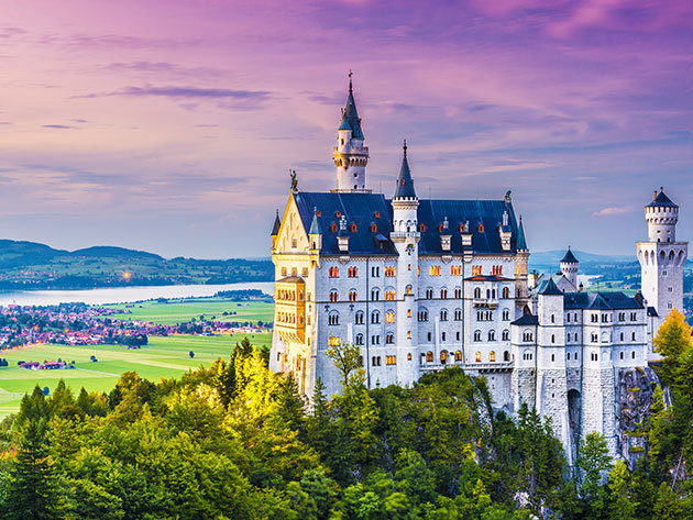 A világhírű tündérmesék palotája, a németországi Neuschwanstein kastély és a csodaszép Salzburg! 2017.12.08-2017.12.10. /fő