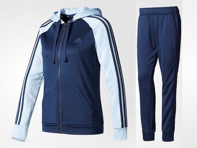 Adidas melegítő, női - RE-FOCUS TS - sötétkék - L