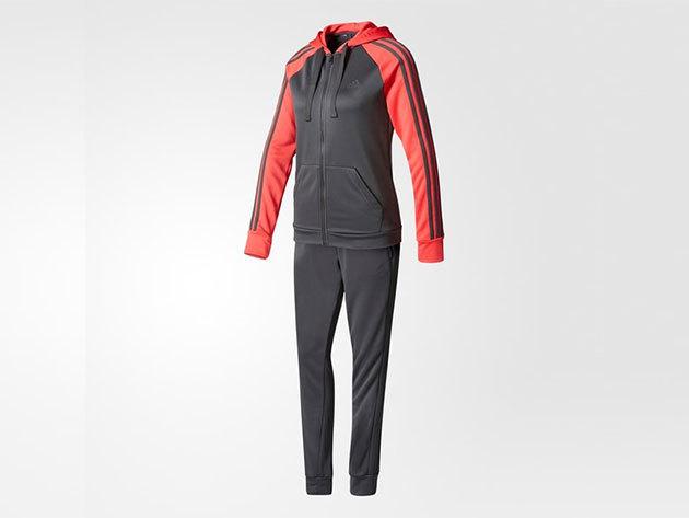 Adidas melegítő, női - RE-FOCUS TS - sötétszürke - L