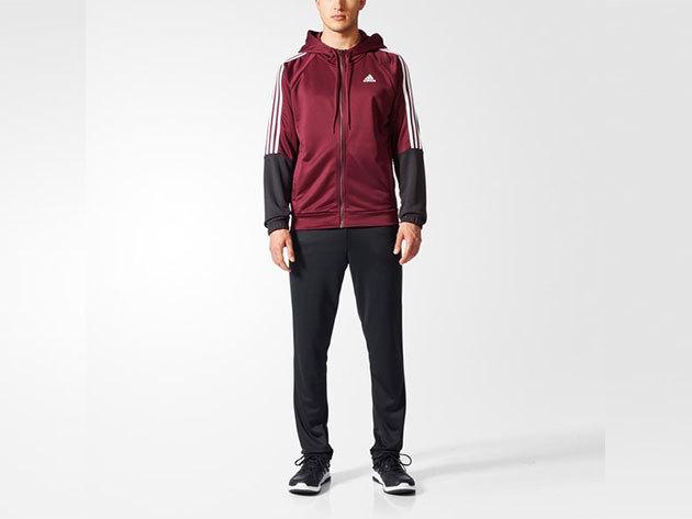 Adidas melegítő, férfi - RE-FOCUS TS - bordó - 10