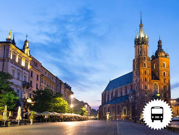 AUSCHWITZ – KRAKKÓ... autóbuszos utazások egész évben, non-stop vagy akár 1 éjszaka szállással - Ne felejtsd a múltat! Megrázó időutazás... / fő