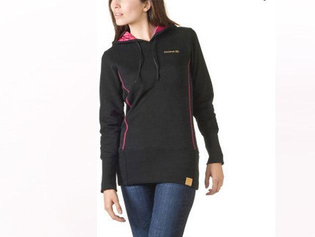 Reebok Starc OTH Hoody, női pulóver - fekete-pink - S