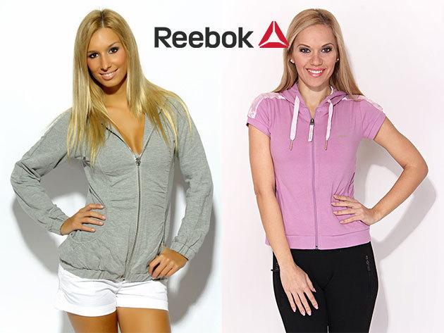 REEBOK női pulóverek és mellények a hidegebb hónapokra XS-L méretben, szabadidős tevékenységekhez