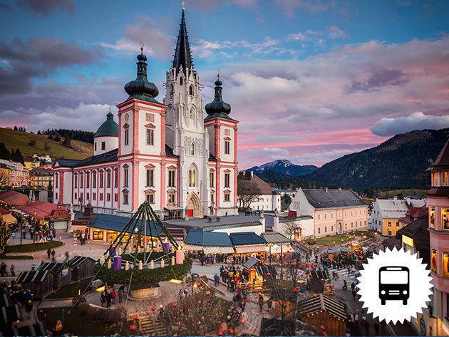 Advent Stájerországban, Mariazellben, útközben a Melki Apátság megtekintése - buszos utazás városnézéssel karácsonyra hangolódva / fő