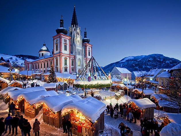 Advent Mariazellben - buszos utazás 2017. december 16-án / fő