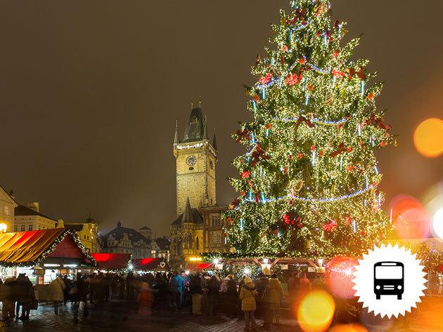 Prága advent fényeiben - 3 nap / 2 éjszaka szállás hajószállodán*** reggelivel! Ünnepi buszos kirándulás Csehországba - november 24-26. / fő