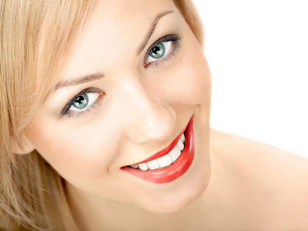 Peroxidmentes fogfehérítés + fogkő eltávolítás + polírozás + rákszűrés + dentálhigiéniai kezelés / Hernád Dent