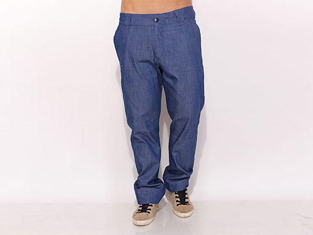 Adidas Adis Denim Pant - férfi farmer nadrág - kék - O04256 - L