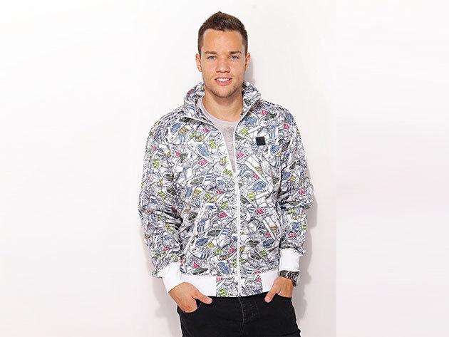 Adidas St Fb Tracktop - férfi pulóver - színes - O57955 - M