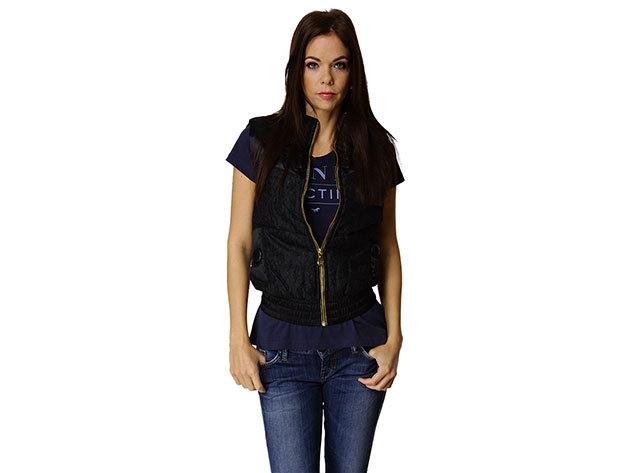 Adidas Lace Puff Vest - női mellény - fekete - P51107 - 34