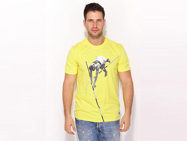 Adidas Adi Tee2 - férfi póló - sárga - X44781 - L
