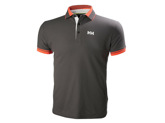 Helly Hansen HP SHORE POLO DARK GULL GREY L (53013_735-L)
