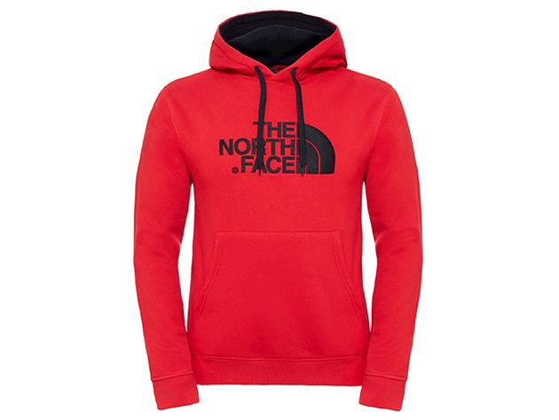 The North Face férfi pulóver DREW PEAK PUL HOOD TNF RED - T0AHJY64M L-es (AZONNAL ÁTVEHETŐ)