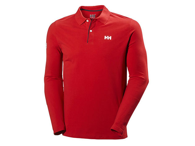 Helly Hansen CREW HH CLASSIC LS POLO RED XL (54416_162-XL)