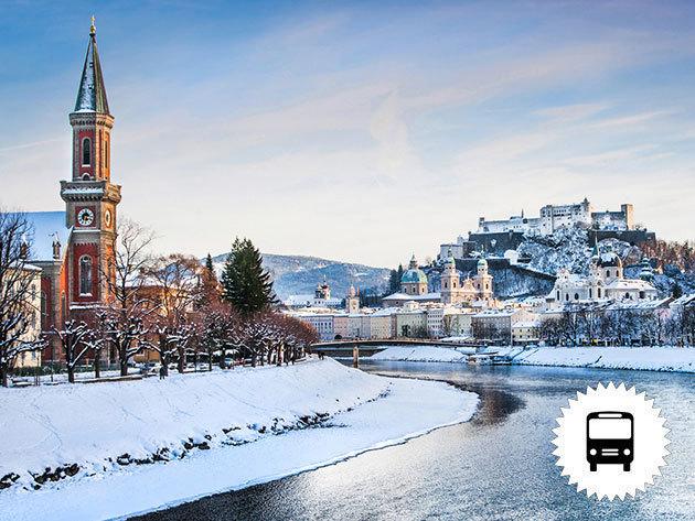 Advent Salzburgban és Bad Ischlben - buszos utazás városnézéssel, 1 éjszaka szállással és reggelivel - 2017. december 2-3. / fő